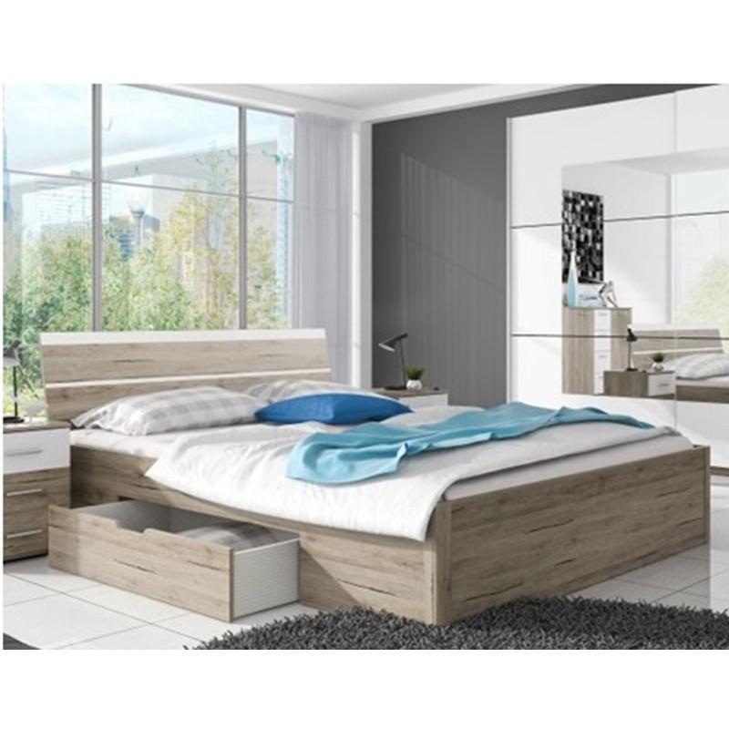 Beta 52 łóżko 180 X 200 Z Szufladami